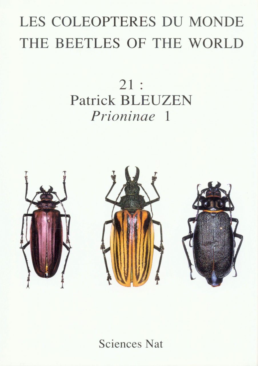The Beetles of the World, Volume 21: Macrodontini & Prionini (Part 1)