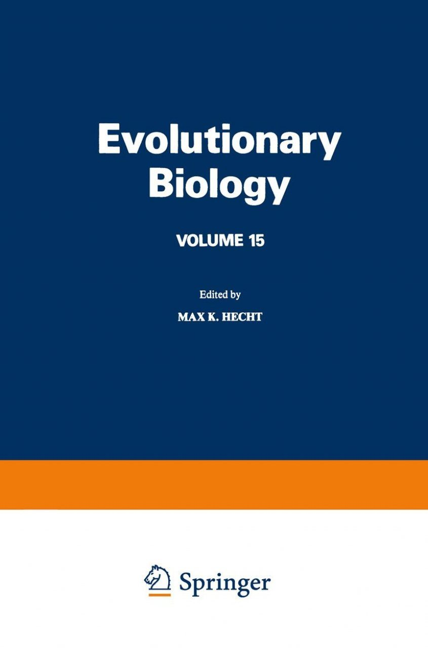 Evolutionary Biology, Volume 15