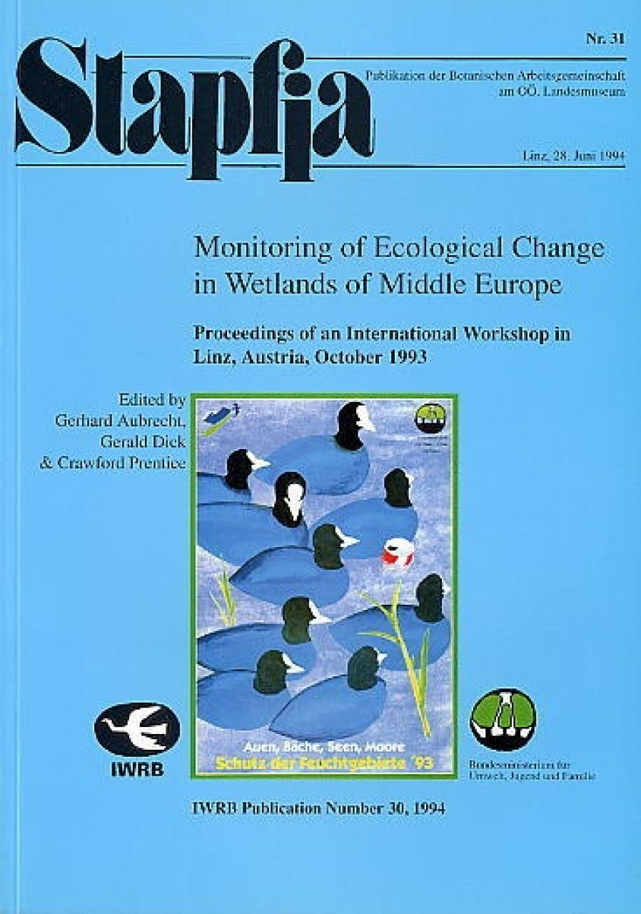 Monitoring of Ecological Change in Wetlands of Middle Europe