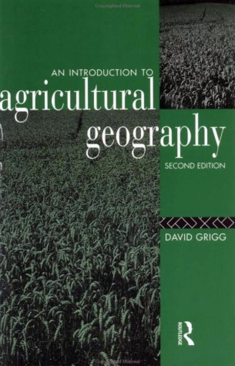 Introduction to Agricultural Geography