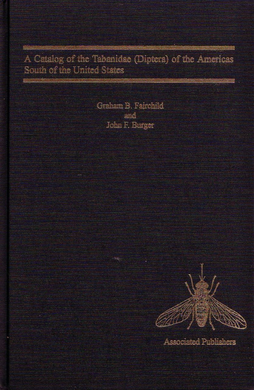 A Catalog of the Tabanidae (Diptera) of the Americas South of the United States