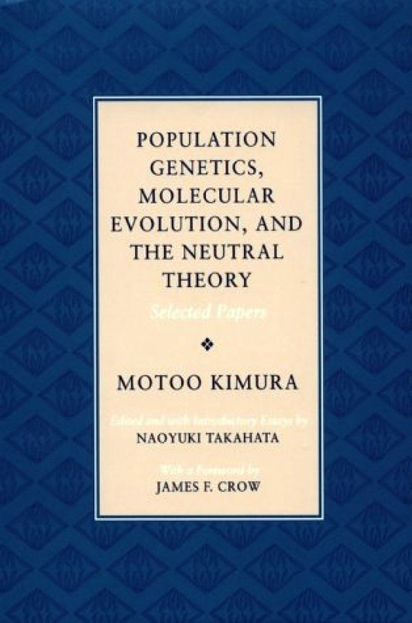 Population Genetics, Molecular Evolution, and the Neutral Theory
