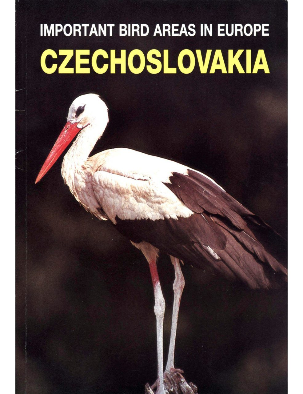 Important Bird Areas in Europe: Czechoslovakia