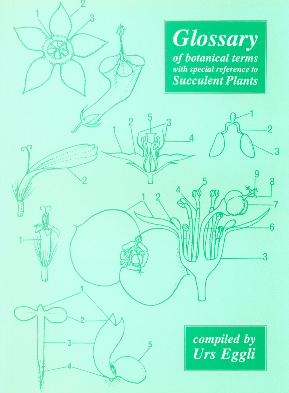 Glossary of Botanical Terms with Special Reference to Succulent Plants