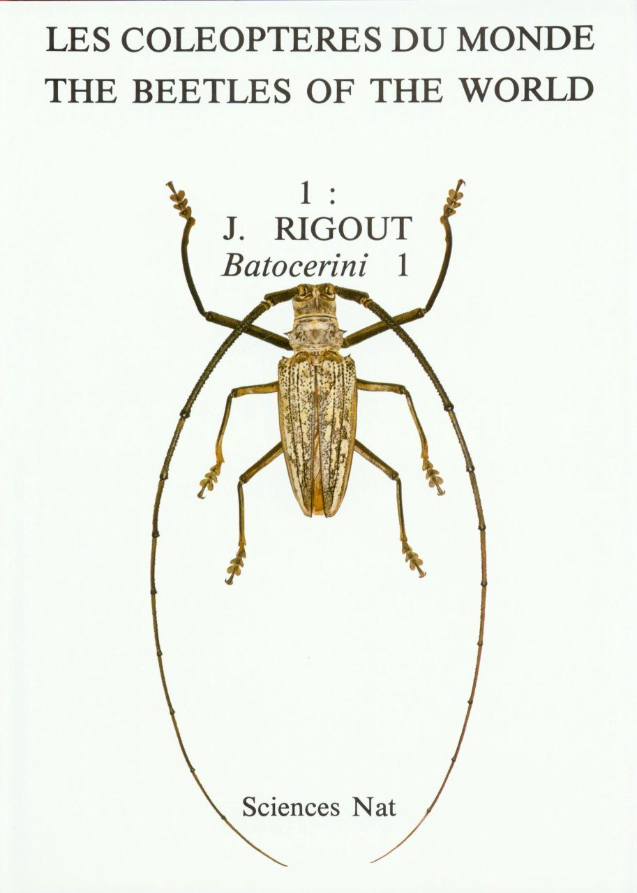 The Beetles of the World, Volume 1: Batocerini (Part 1)