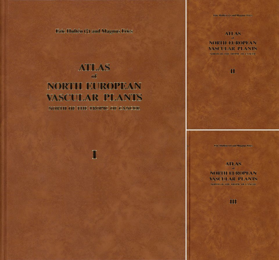 Atlas of North European Vascular Plants: North of the Tropic of Cancer (3-Volume Set)