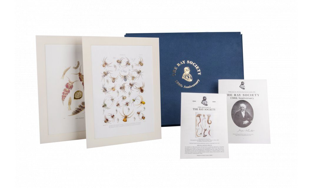 In Celebration of the Ray Society Established 1844, and its Founder George Johnston (1797-1855) - Special Edition, Unmounted