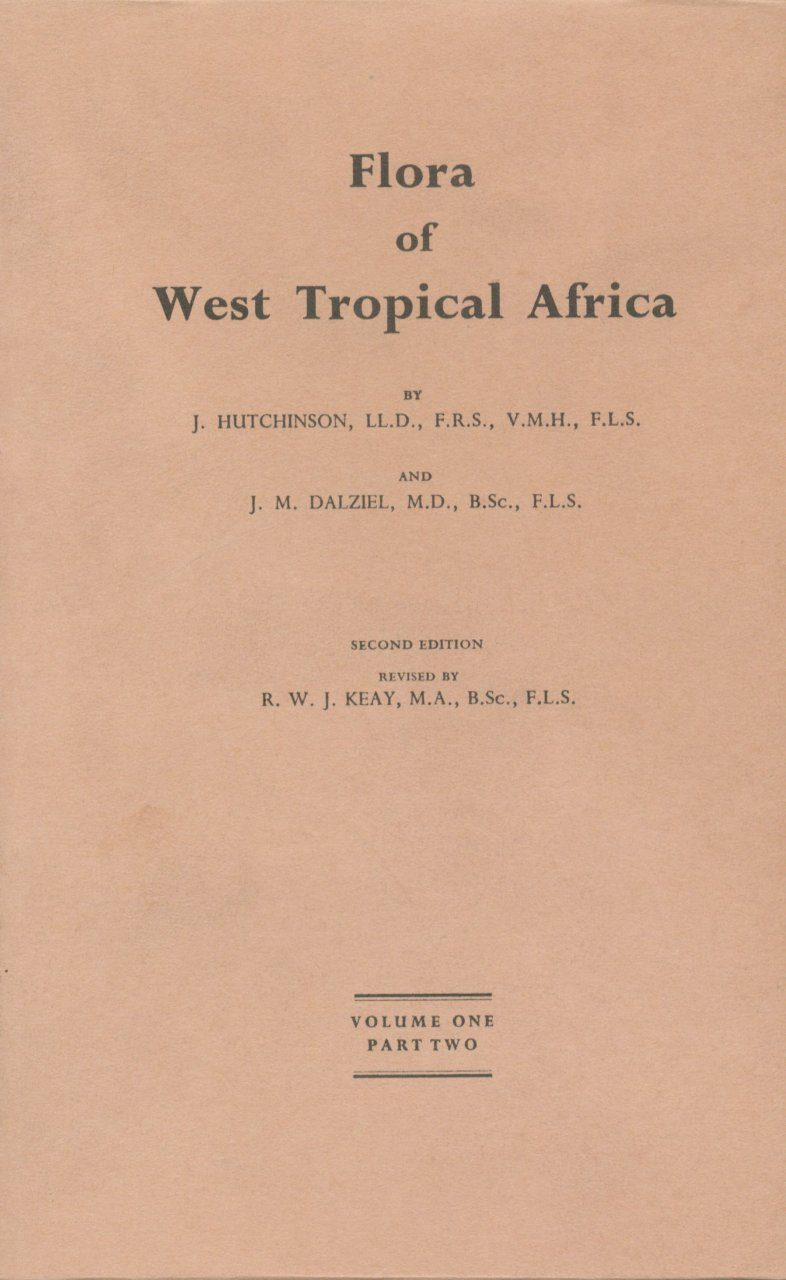 Flora of West Tropical Africa, Volume 1, Part 2