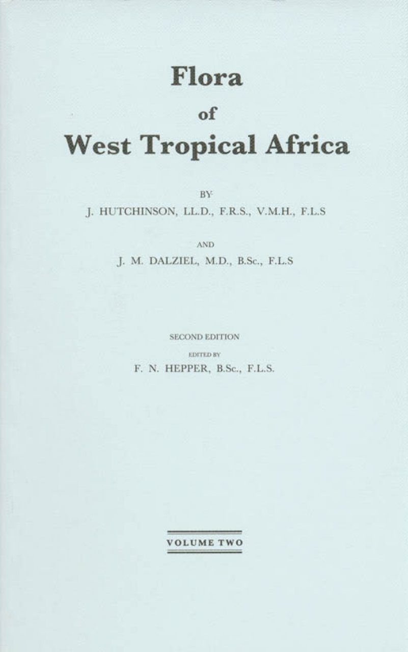 Flora of West Tropical Africa, Volume 2