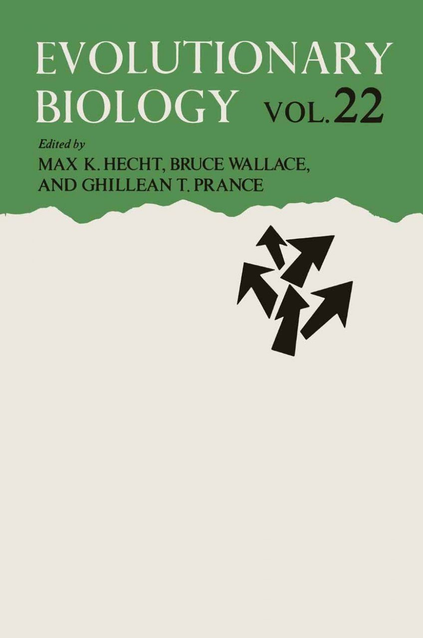 Evolutionary Biology, Volume 22
