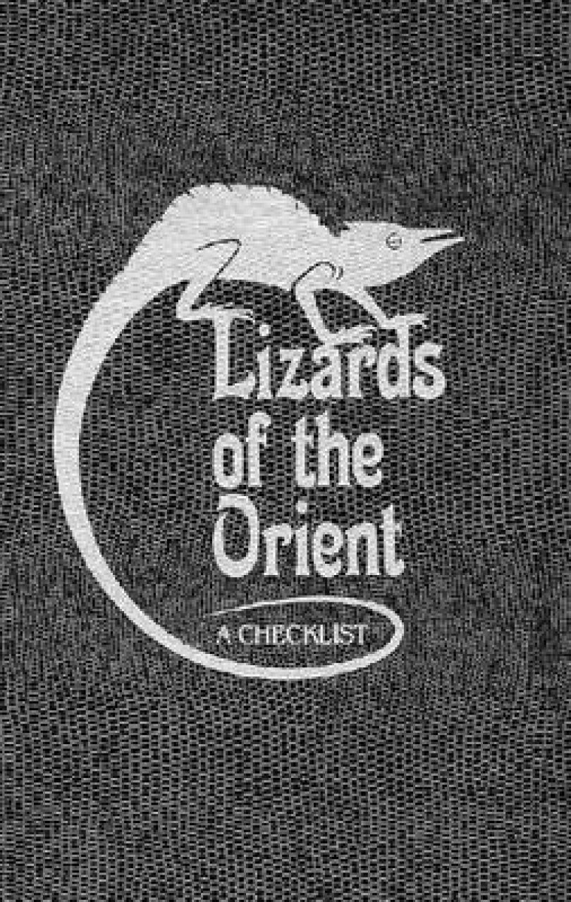 Lizards of the Orient: A Checklist