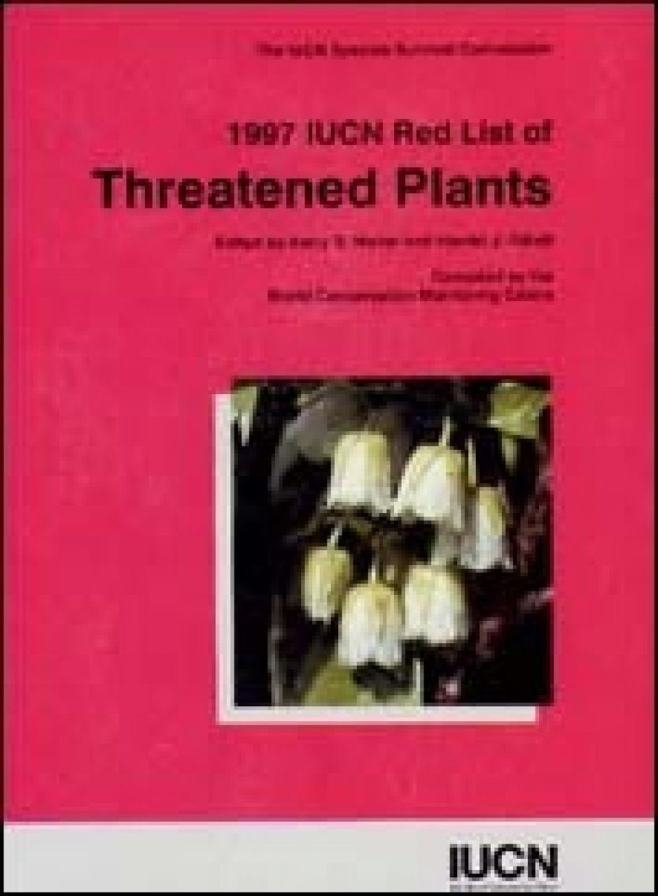 The 1997 IUCN Red List of Threatened Plants