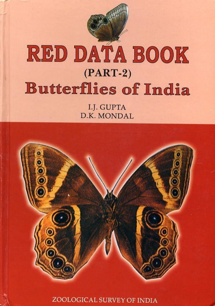 The Red Data Book, Part 2: Butterflies of India