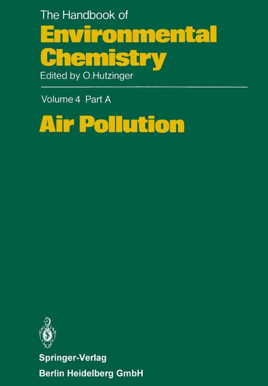 The Handbook of Environmental Chemistry, Volume 4, Part A
