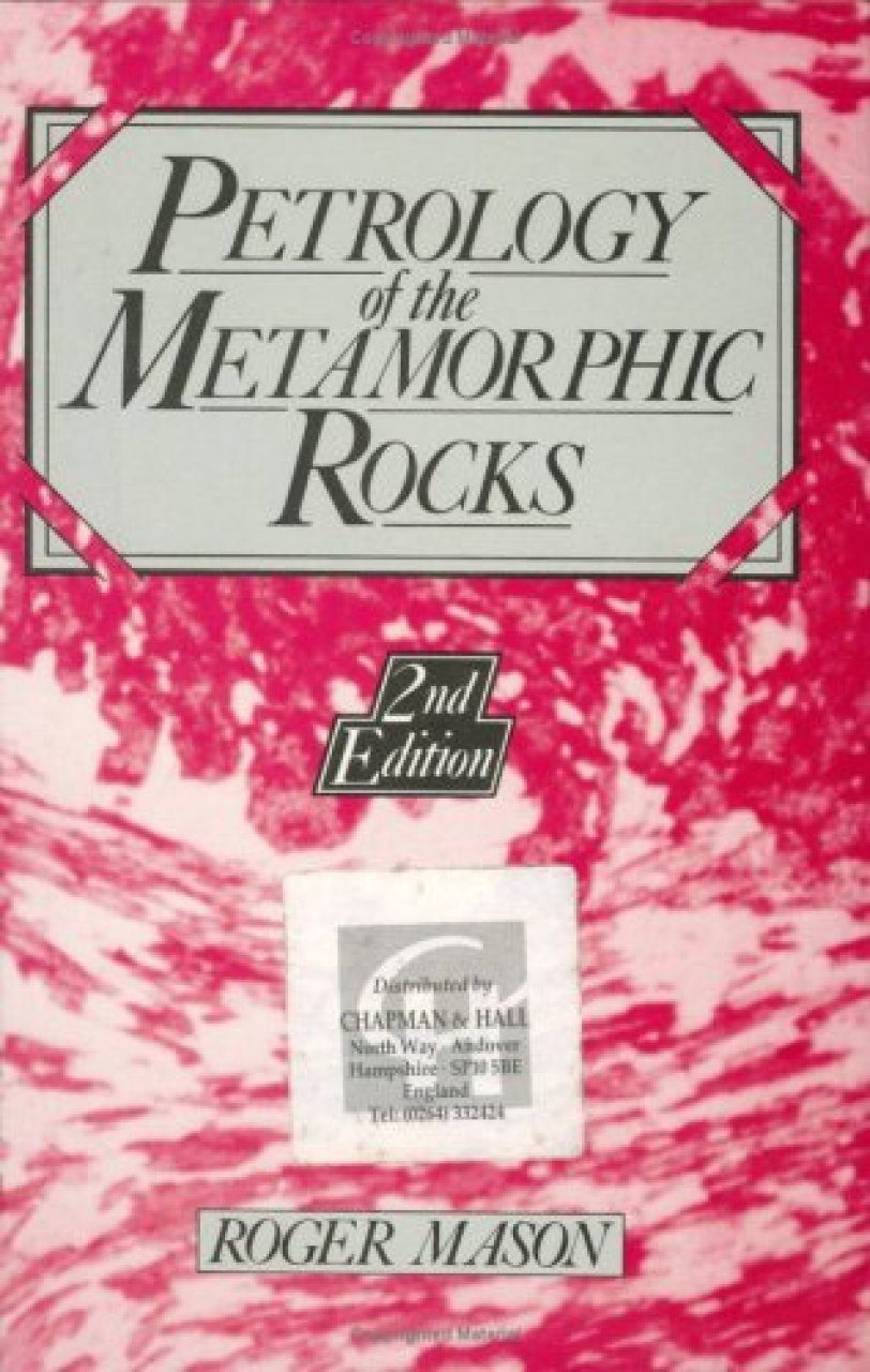 Metamorphic Petrology Book