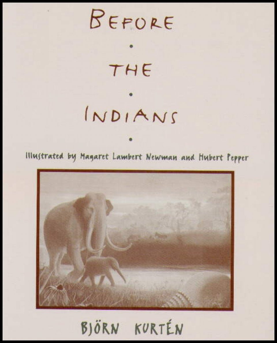 Before the Indians