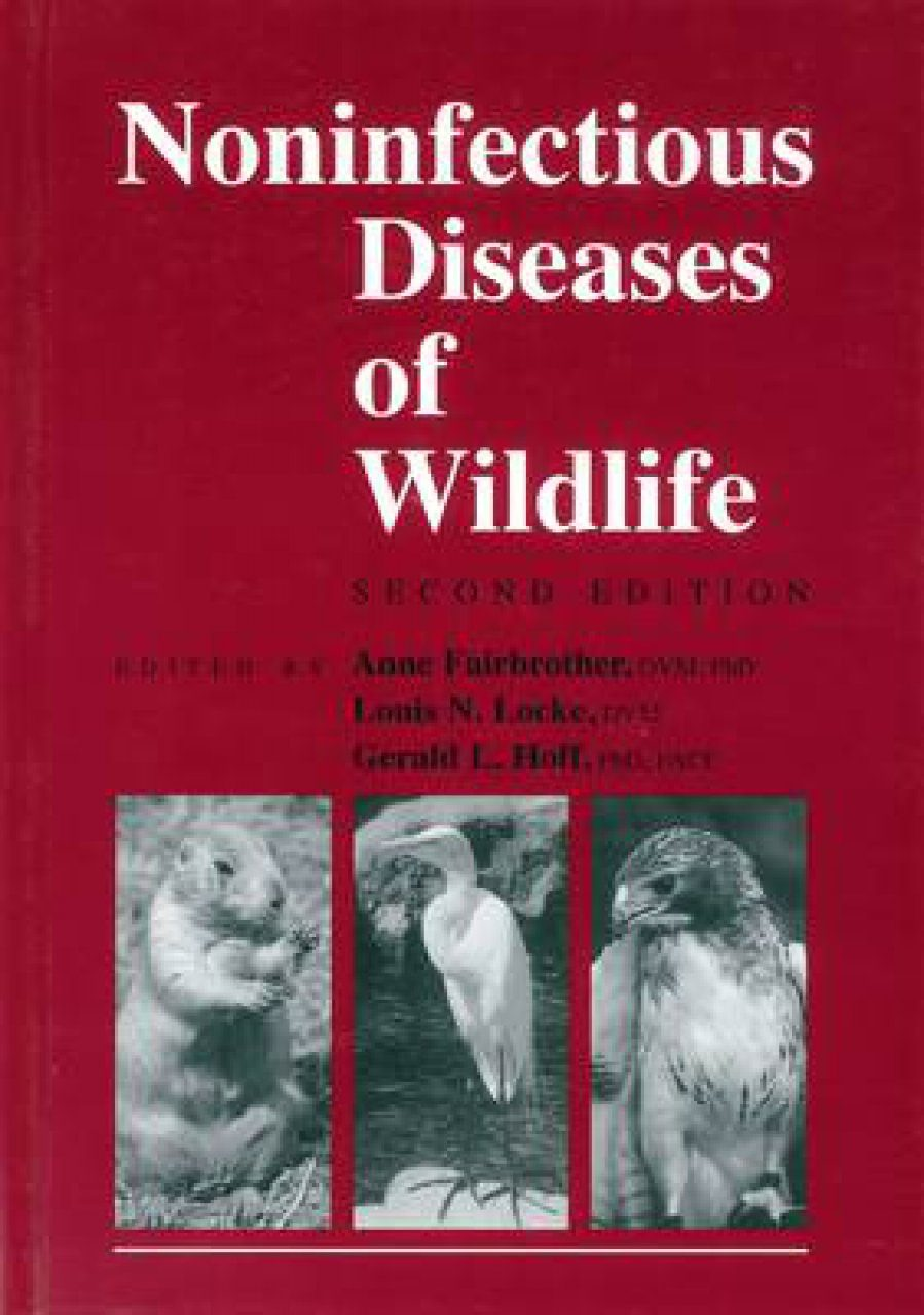Noninfectious Diseases of Wildlife