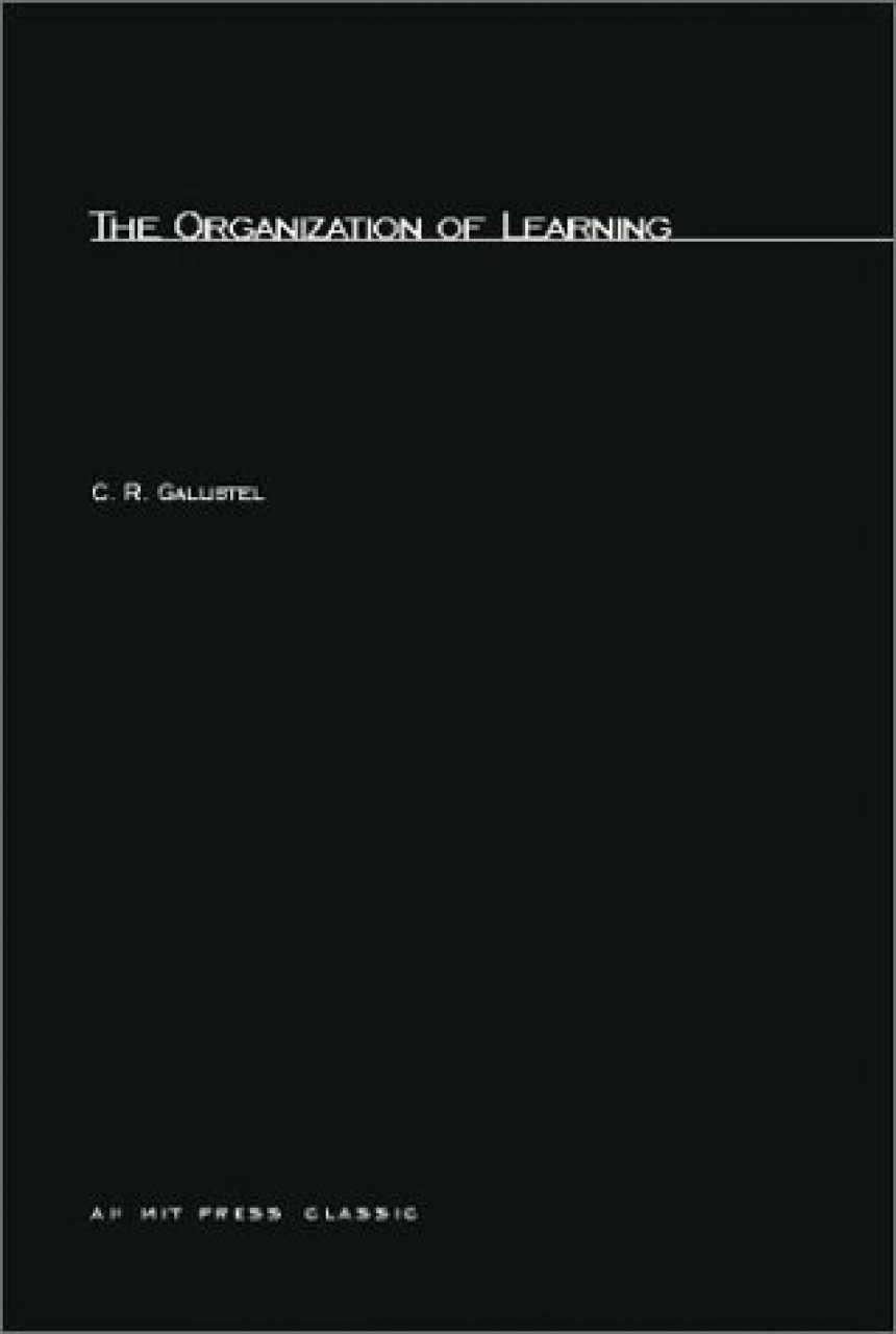 The Organisation of Learning