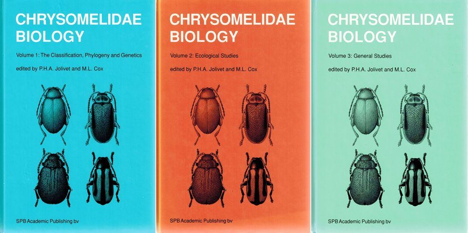 Chrysomelidae Biology (3-Volume Set)