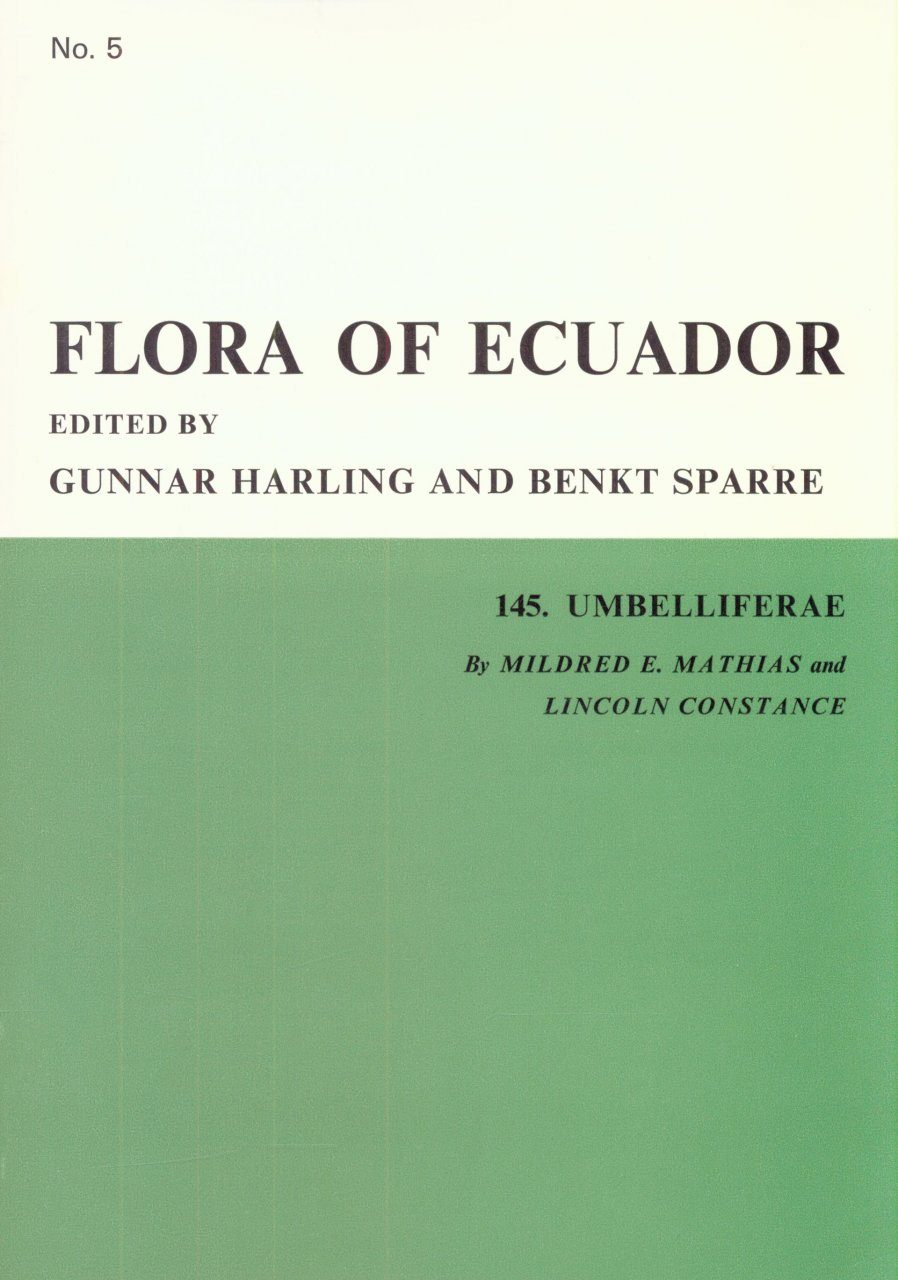 Flora of Ecuador, Volume 5, Part 145: Umbelliferae