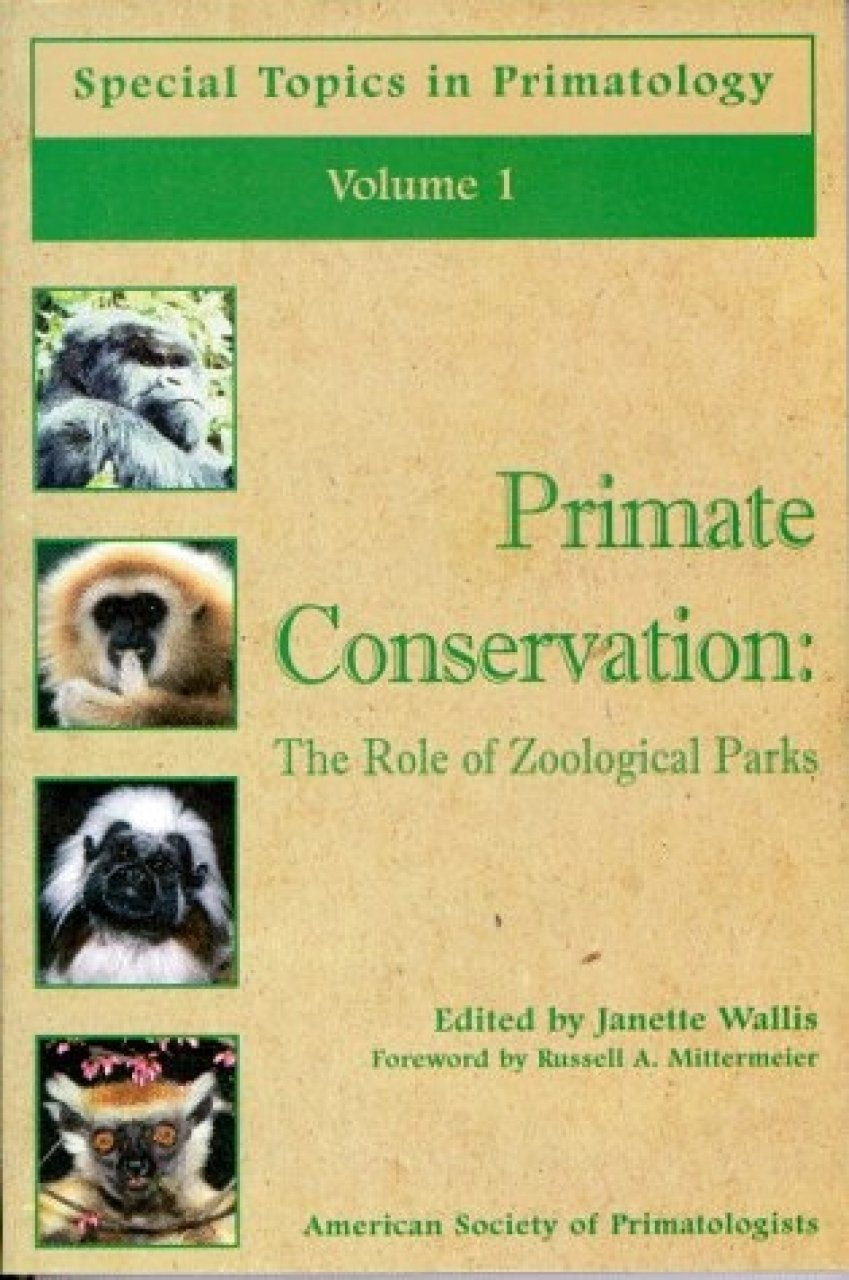 Primate Conservation: The Role of Zoological Parks