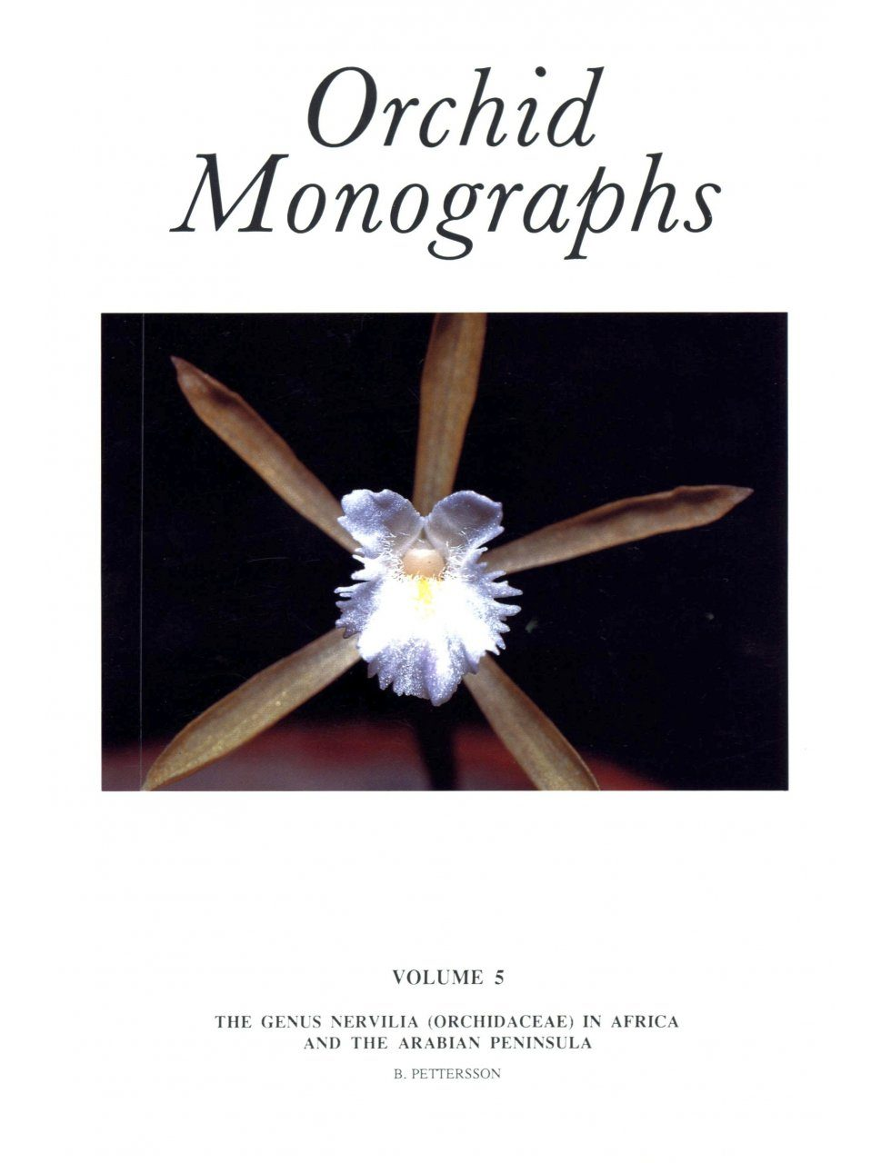 Orchid Monographs, Volume 5