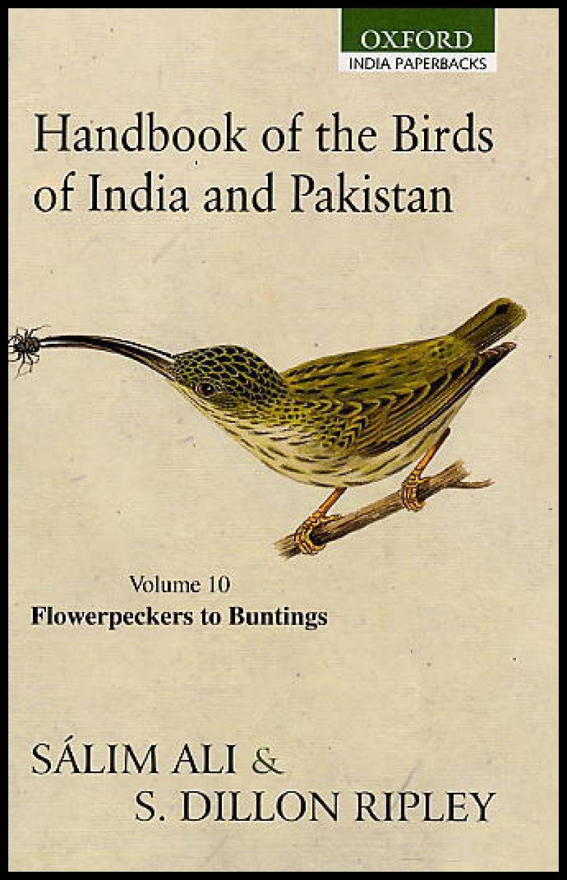 Handbook of the Birds of India and Pakistan, Volume 10