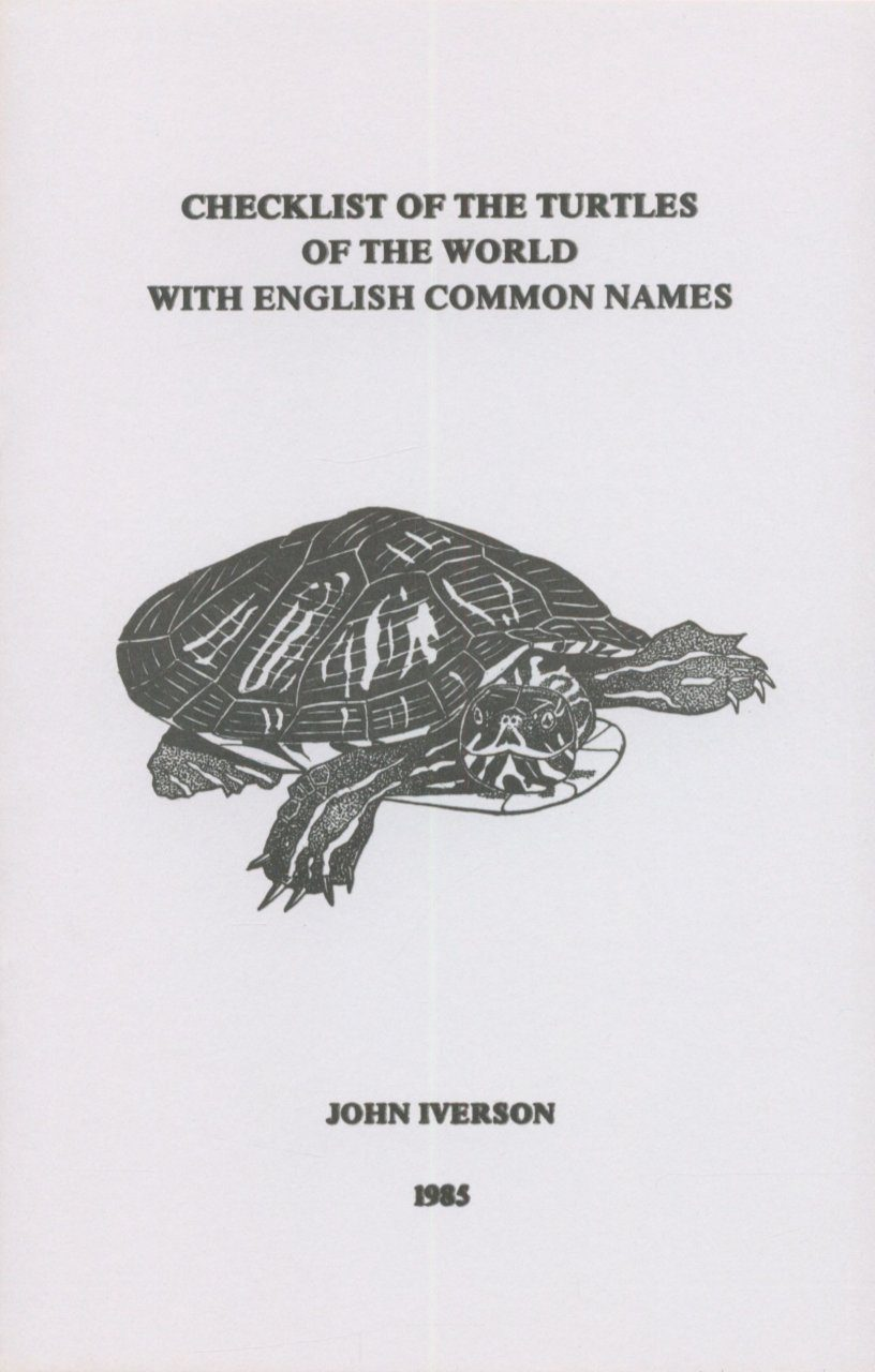 Checklist of the Turtles of the World with English Common Names