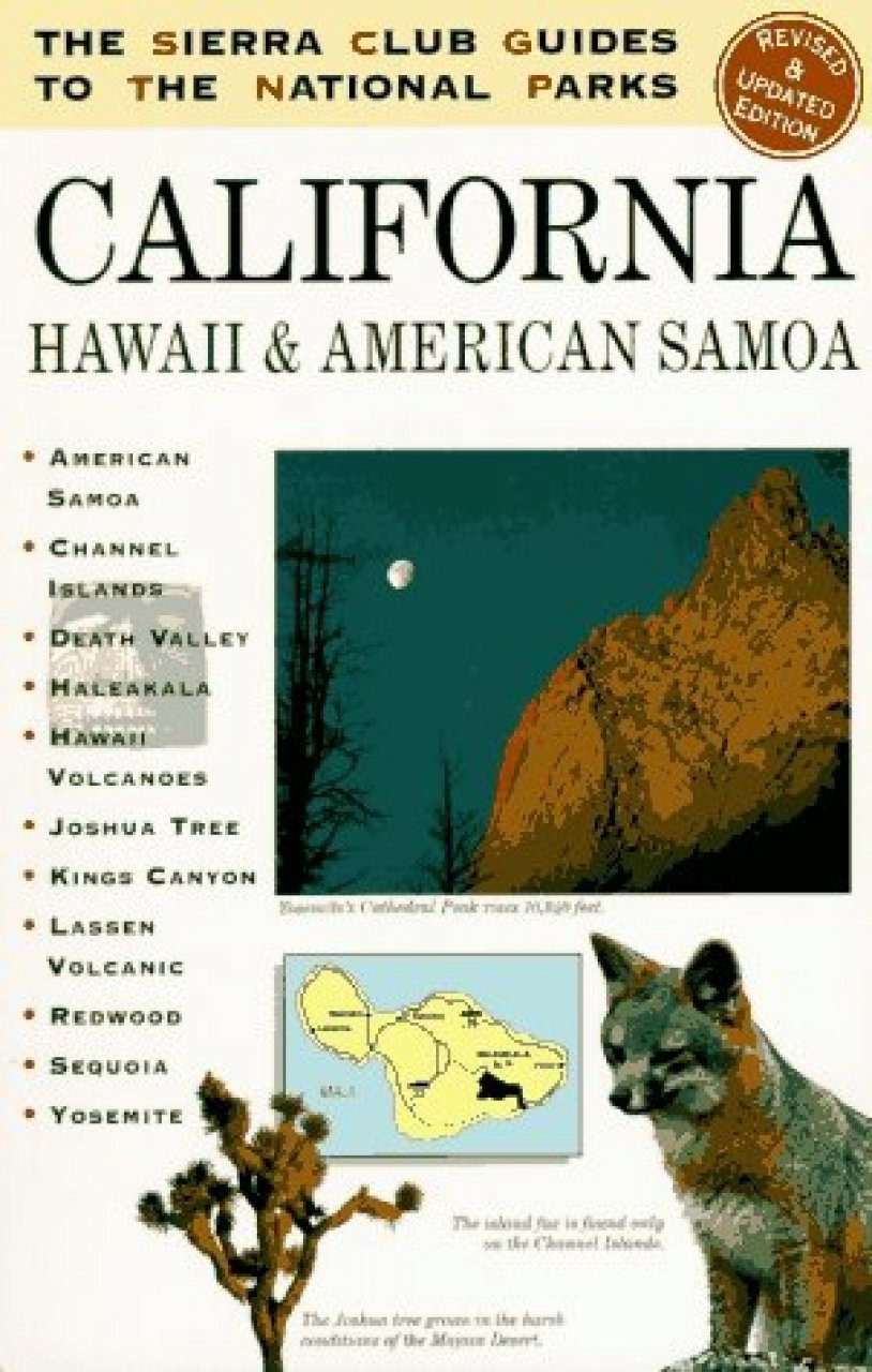 The Sierra Club Guides to the National Parks of the Pacific Southwest and Hawaii