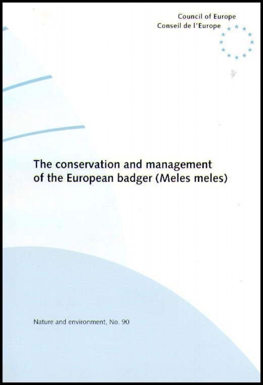 Conservation and Management of the European Badger (Meles meles)