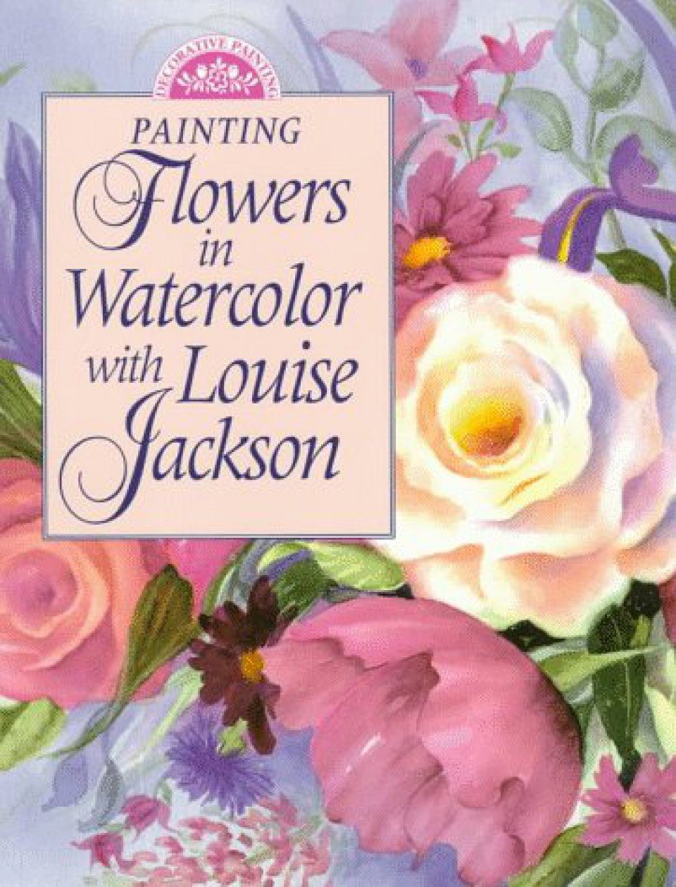 Painting Flowers in Watercolour with Louise Jackson