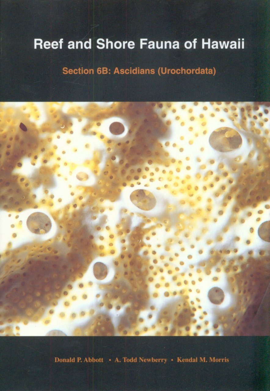 Reef and Shore Fauna of Hawaii, Section 6B: Ascidians (Urochordata)