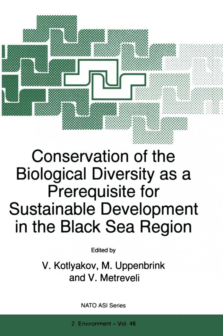 Conservation of Biological Diversity as a Prerequisite for Sustainable Development in the Black Sea Region