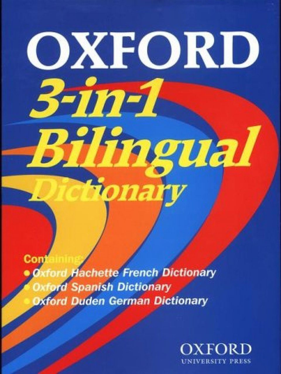 Oxford 3-in-1 Bilingual Dictionary (Windows/Macintosh CD-ROM)