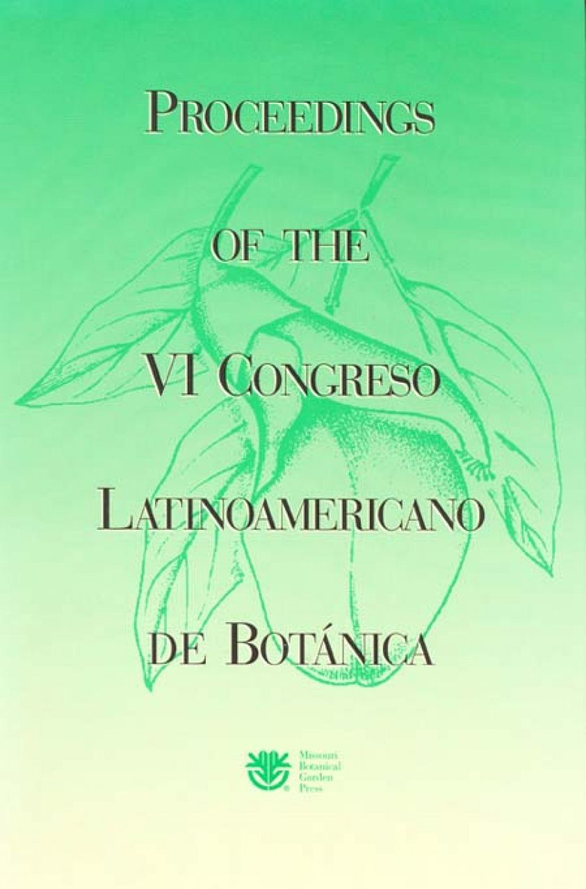 Proceedings of the VI Congreso Latinamericano de Botánica, Mar del Plata, Argentina, 2-8 October, 1994