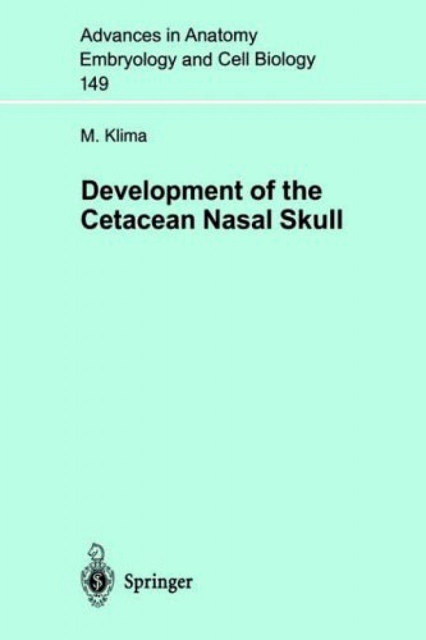 Development of the Cetacean Nasal Skull