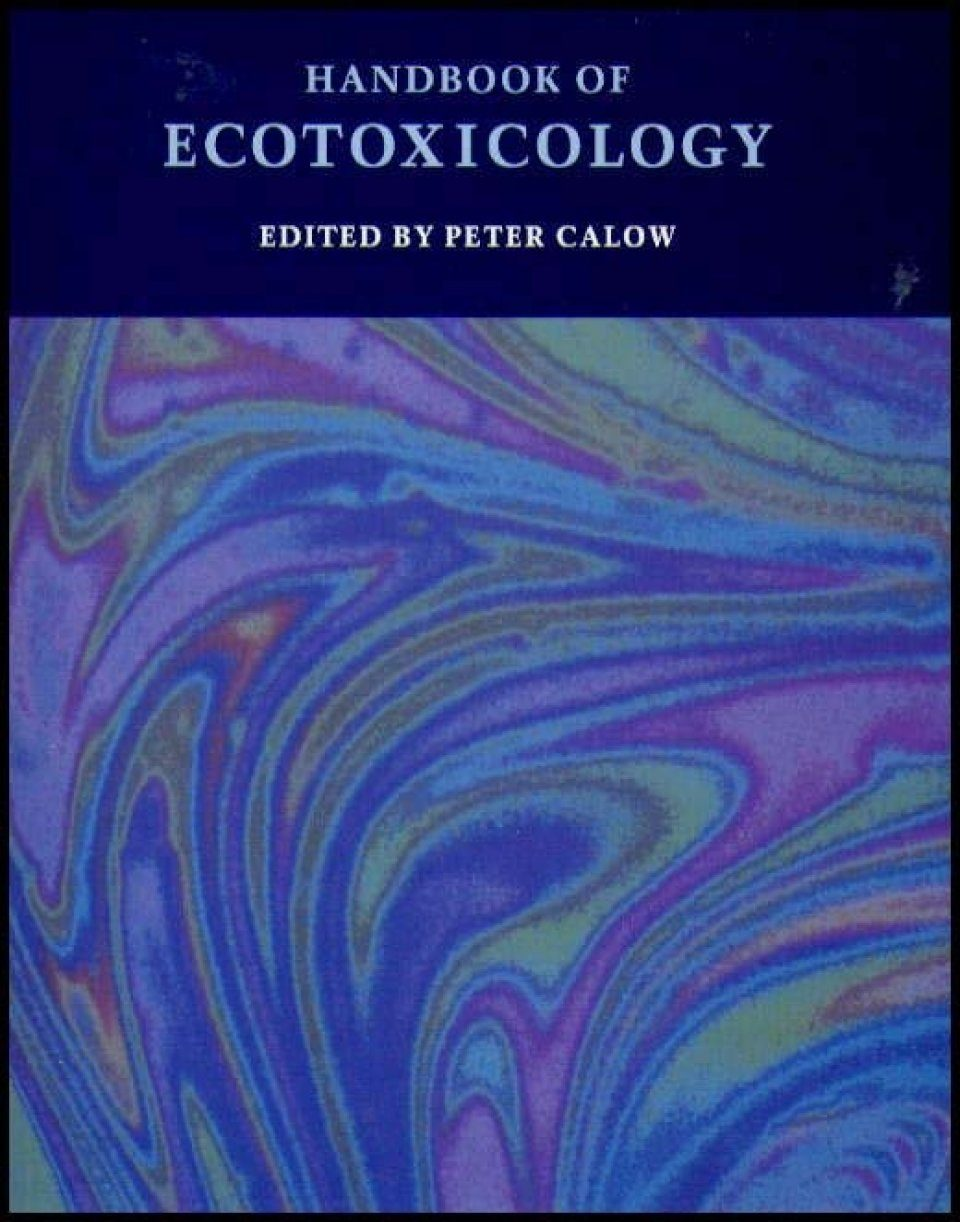 Handbook of Ecotoxicology (2-Volume Set)