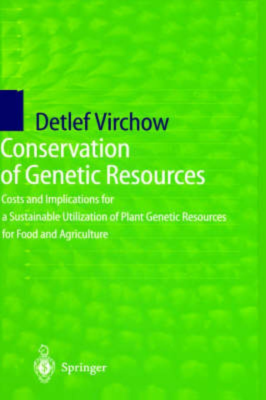 Conservation of Genetic Resources
