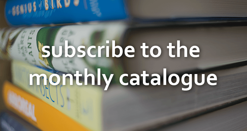 Subscribe to email updates on the nhbs monthly catalogue.